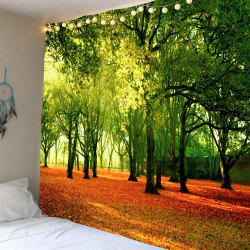 Hanging Fallen Leaves Trees Wall Decor Tapestry