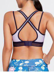 Strappy Back Padded Sports Bra