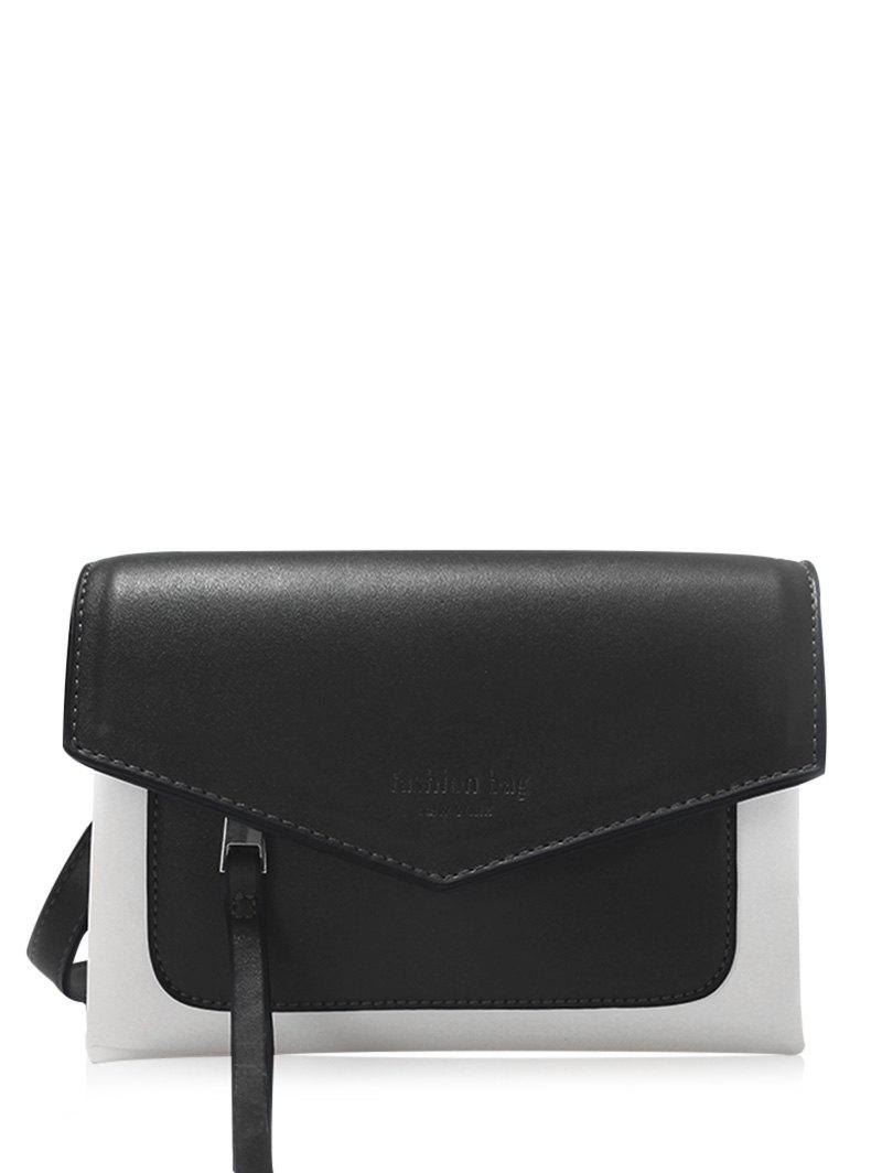 Buy Envelope Color Block Crossbody Bag