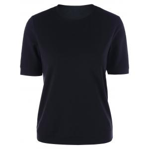 Crew Neck Slim Basic T-shirt