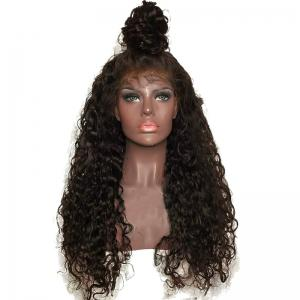 Long Free Part Shaggy Curly Lace Front Synthetic Wig - Deep Brown