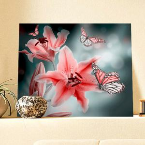 Flower Butterfly DIY 5D Resin Diamond Paperboard Painting