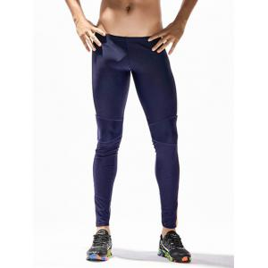 Panneau ouvrant à l'ailé Stretchy Side Block Block Gym Pants -