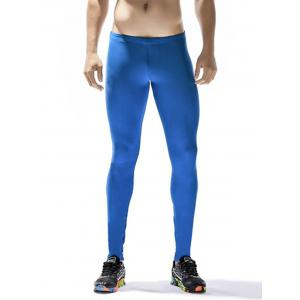 Side Color Block Stripe Quick Dry Stretchy Gym Pants -