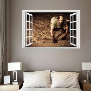 Superior ... Window Zombie Removable 3D Wall Art Sticker ... Part 29
