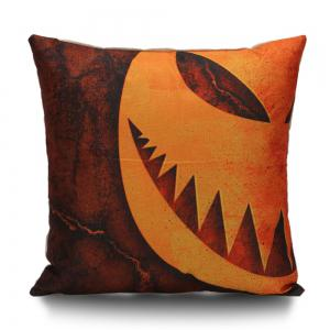 Halloween Decor Grimace Pumpkin Pillow Case