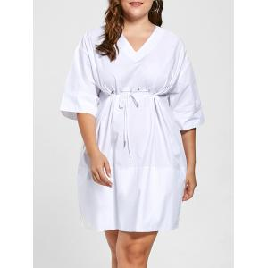 Empire Waist Plus Size Baggy Dress