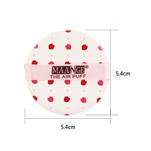 Portable Different Pattern Round Powder Puff with Box - #09