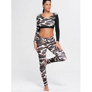 Leggings en forme de patte Camo - Bis XL