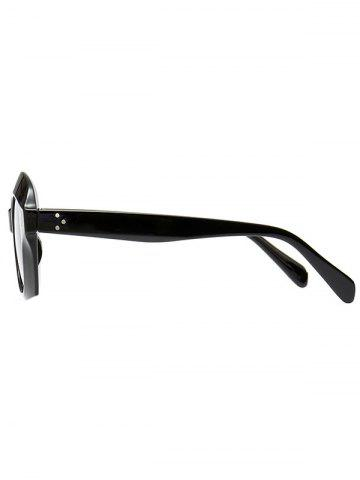 Outfits Ombre Wide Frame Street Snap Sunglasses - BLACK  Mobile
