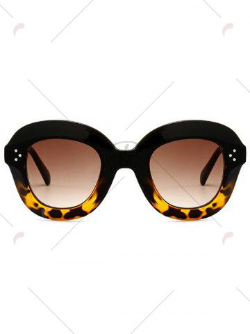 Outfits Ombre Wide Frame Street Snap Sunglasses - BLACK+LEOPARD  Mobile