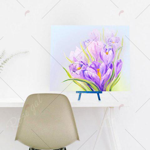 New Daffodils Handmade Resin Diamond Paperboard Painting - PURPLE  Mobile
