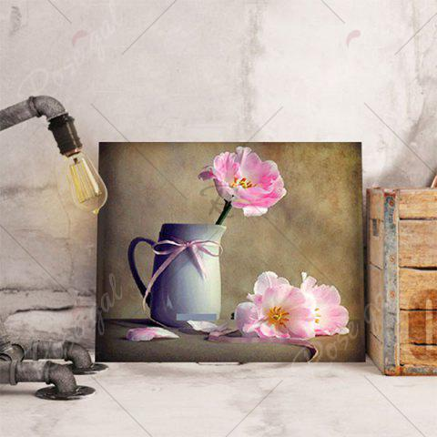 Chic Mug Flower DIY 5D Resin Diamond Paperboard Painting - DAFFODIL YELLOW  Mobile