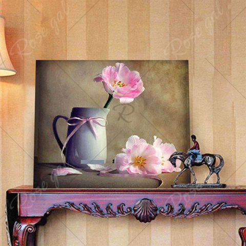 Sale Mug Flower DIY 5D Resin Diamond Paperboard Painting - DAFFODIL YELLOW  Mobile