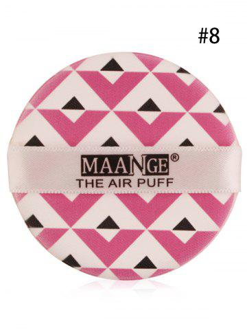 Sale Portable Different Pattern Round Powder Puff with Box