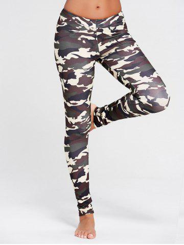Leggings en forme de patte Camo Bis XL