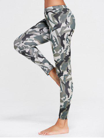 Leggings en forme de patte Camo