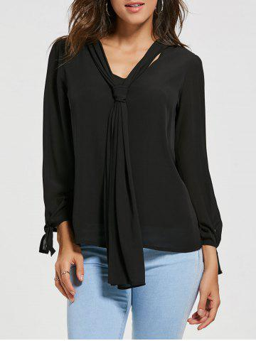 Buy Chiffon Blouse with Optional Tie
