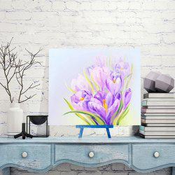 Daffodils Handmade Resin Diamond Paperboard Painting - PURPLE