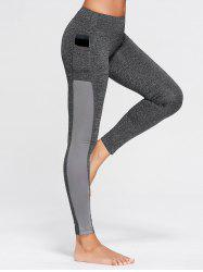 Stretchy Side Pocket Workout Leggings
