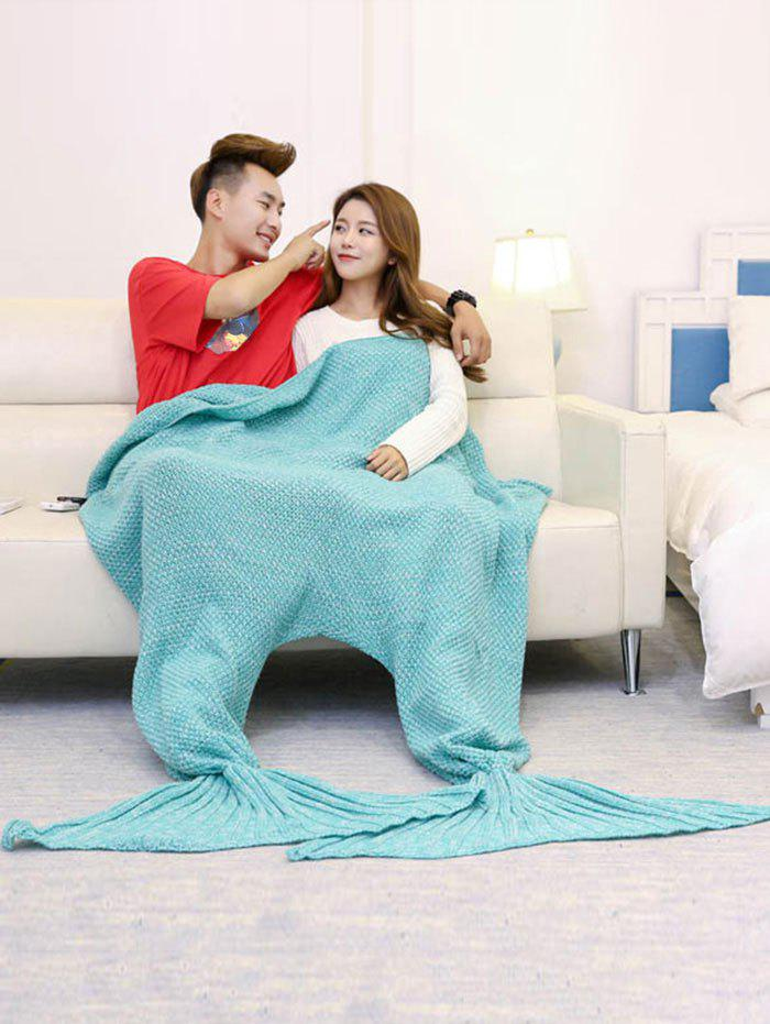 Store Super Soft Knitted Mermaid Blanket For Lovers
