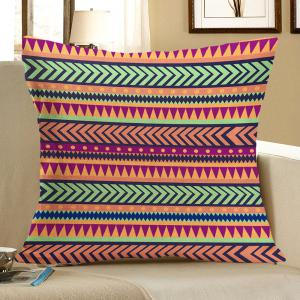 Bohemian Geometric Pattern Pillow Case