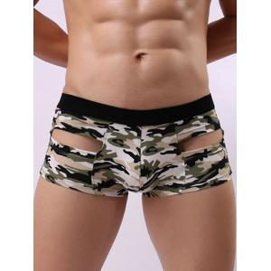 Convex Pouch Camouflage Hollow Trunk