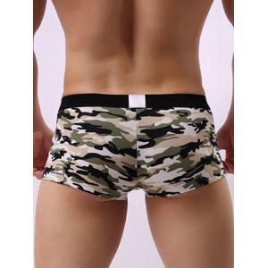Convex Pouch Camouflage Hollow Trunk - GREEN XL