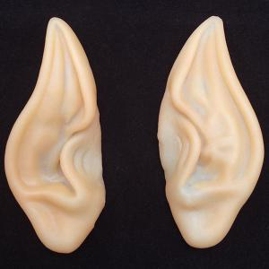 Pair of Halloween Party Cosplay Elf Ears - Yellowish Pink - One Size
