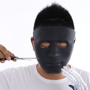 Costume de fantaisie Halloween Black Devil mask