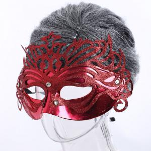 Halloween Glittering Hollow Out Mask