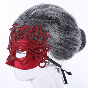 Halloween Glittering Hollow Out Mask -