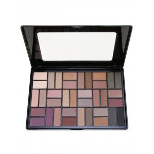 36 Colors Smoky Eyeshadow Cosmetic Palette - #01