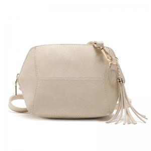 Tassels Geometric Shape Crossbody Bag