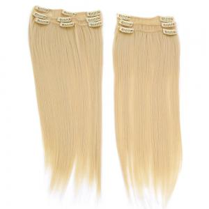 Long Clip In Straight Hair Extension - Golden
