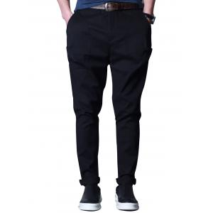 Crotch Drop Casual Pants