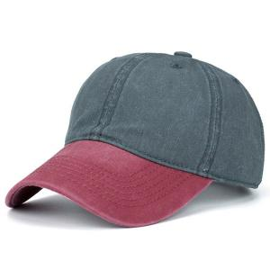 Nostalgic Color Block Baseball Cap