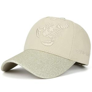 Scorpion Letters Embroidered Baseball Cap