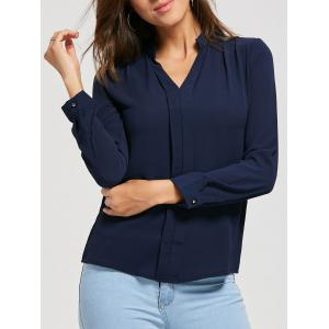 V Neck Casual Blouse