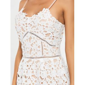 Crochet Cami Lace Mini Club Robe de cocktail -