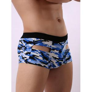 Convex Pouch Camouflage Hollow Trunk -