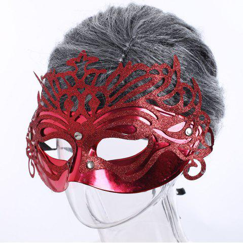 New Halloween Glittering Hollow Out Mask