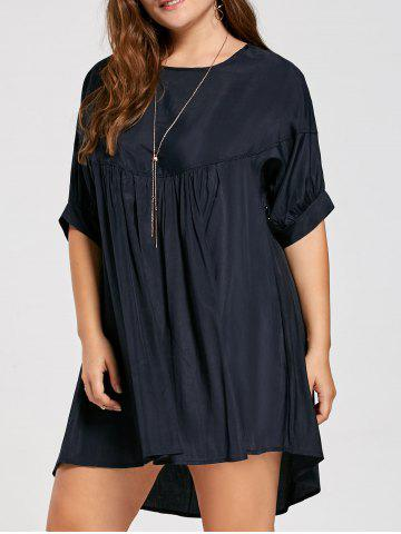 Fancy Plus Size Casual Smock Dress