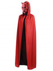 Halloween Cosplay Ghost Hooded Cloak -