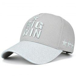 Star Letters Embroidered Baseball Cap