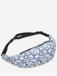 Animal Print Zipper Fanny Pack