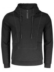 Pullover High Neck Hoodie