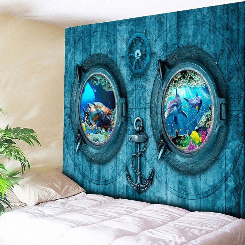 30 Off Animal Submarine Print Bedroom Tapestry Rosegal