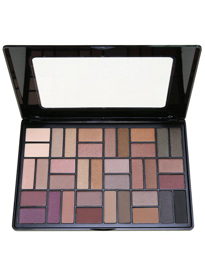 36 Colors Smoky Eyeshadow Cosmetic PaletteBEAUTY<br><br>Color: #01; Category: Shadow; Type: Powder; Season: Fall,Spring,Summer,Winter; Weight: 0.4000kg; Package Contents: 1 x Eyeshadow Palette;