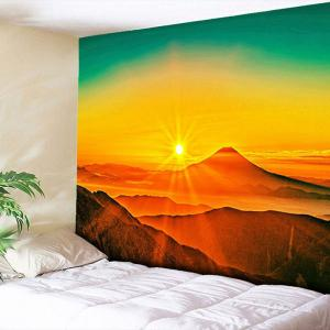 Wall Hanging Sunset Print Tapestry